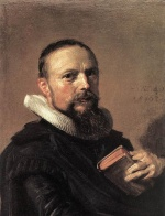 Frans Hals  - paintings - Samuel Ampzing