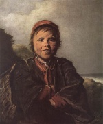 Frans Hals  - paintings - The Fisher Boy