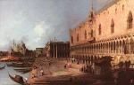 Canaletto - paintings - Doge Palace
