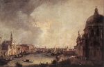 Canaletto - paintings - Entrance to the Grand Canal (Looking East)
