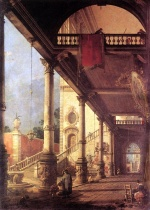 Canaletto - Peintures - Perspective