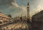 Canaletto - paintings - Piazza San Marco 2