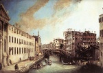 Canaletto  - Bilder Gemälde - Rio dei Mendicanti (Looking South)