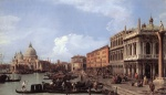 Canaletto  - Bilder Gemälde - The Molo (Looking West)