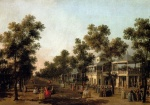 Canaletto  - Bilder Gemälde - View Of The Grand Walk
