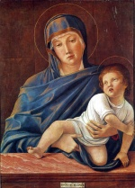 Giovanni Bellini - Bilder Gemälde - Madonna and Child