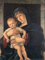 Giovanni Bellini - Bilder Gemälde - Madonna with the Child