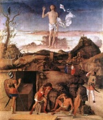 Giovanni Bellini - Bilder Gemälde - Resurrection of Christ
