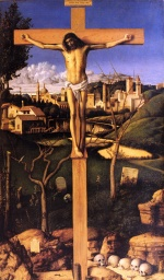 Giovanni Bellini - Bilder Gemälde - The Crucifixion