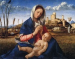 Giovanni Bellini  - Bilder Gemälde - Virgin and Child