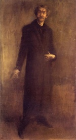 James Abbott McNeill Whistler - paintings - Brown and Gold