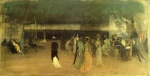James Abbott McNeill Whistler - paintings - Cremorne Gardens No 2