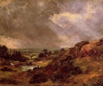 John Constable - paintings - Branch Hill Pond Hampstead