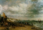 John Constable - paintings - Chain Pier, Brighton