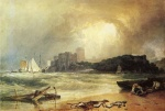 Joseph Mallord William Turner  - Bilder Gemälde - Pembroke Caselt, South Wales (Thunder Storm Approaching)