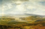 Joseph Mallord William Turner  - Bilder Gemälde - Raby Castle, the Seat of the Earl of Darlington