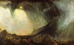 Joseph Mallord William Turner  - Bilder Gemälde - Snow Storm (Hannibal and His Army Crossing the Alps)