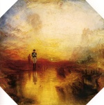 Joseph Mallord William Turner  - Bilder Gemälde - The Exile and the Snail