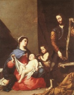 Jusepe de Ribera  - Bilder Gemälde - The Holy Family
