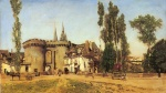 Martin Rico y Ortega - paintings - The Village of Chartres