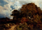 Sidney Richard Percy - Bilder Gemälde - The Road across the Common