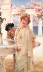 Sir Lawrence Alma Tadema  - Bilder Gemälde - A Difference of Opinion