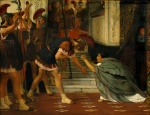 Sir Lawrence Alma Tadema  - Bilder Gemälde - Claudius Summoned