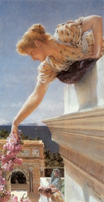 Sir Lawrence Alma Tadema  - Bilder Gemälde - God Speed