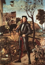 Vittore Carpaccio - Bilder Gemälde - Portrait of a Knight
