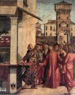 Vittore Carpaccio - Bilder Gemälde - The Calling of Matthew