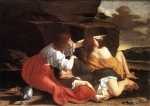 Orazio Gentileschi - paintings - Lot and his Daughters