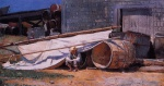 Winslow Homer - Bilder Gemälde - Boy in a Boatyard