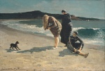 Winslow Homer  - Bilder Gemälde - Eagle Head, Manchester, Massachusetts (High Tide)