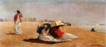 Winslow Homer  - Bilder Gemälde - East Hampton, Long Island