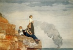 Winslow Homer  - Bilder Gemälde - Fishermans Family