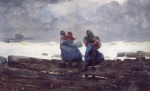 Winslow Homer  - Bilder Gemälde - Fisherwives