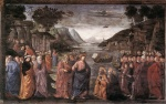 Domenico Ghirlandaio - paintings - Calling of the First Apostles