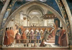Domenico Ghirlandaio - paintings - Confirmation of the Rule