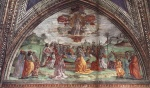 Domenico Ghirlandaio - paintings - Death and Assumption of the Virgin
