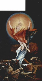 Matthias Gruenewald - paintings - The Resurrection