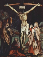 Matthias Gruenewald - paintings - The Smal Crucifixion