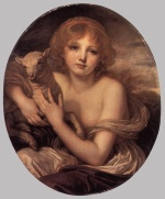Jean Baptiste Greuze - paintings - Innocence