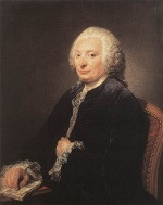 Jean Baptiste Greuze - paintings - Portrait of George Gougenot de Croissy