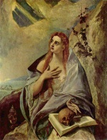 El Greco - paintings - The Magdalene