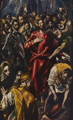 El Greco - paintings - The Spoliation