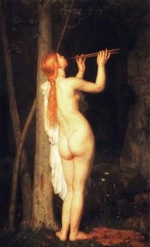 Charles Gleyre - paintings - A Bacchante