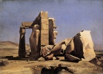 Charles Gleyre - paintings - Egyptian Temple
