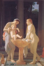 Charles Gleyre - paintings - The Bath