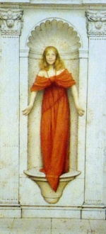 Thomas Cooper Gotch - paintings - A Jest