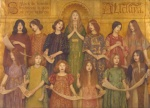 Thomas Cooper Gotch - paintings - Alleluia